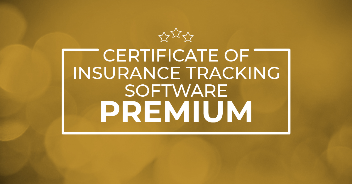 Read more about the article Certificate Of Insurance Tracking Software – PREMIUM
