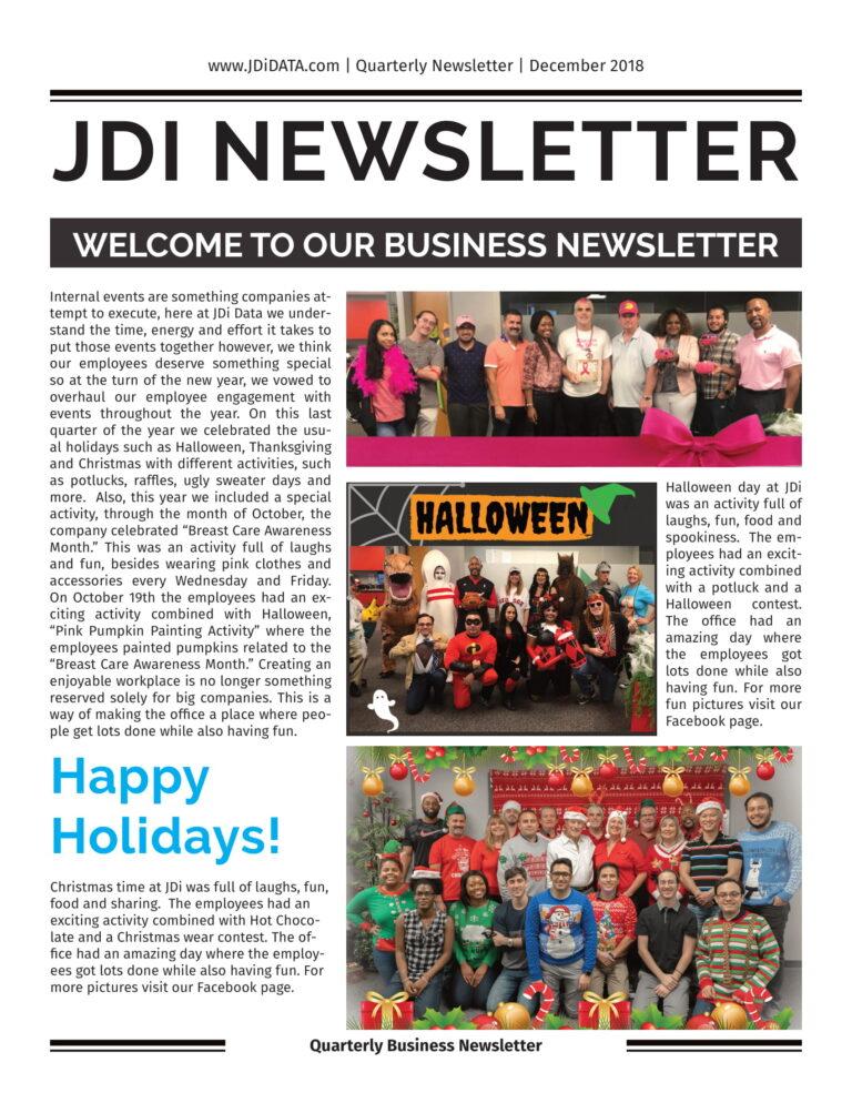 JDi Newsletter
