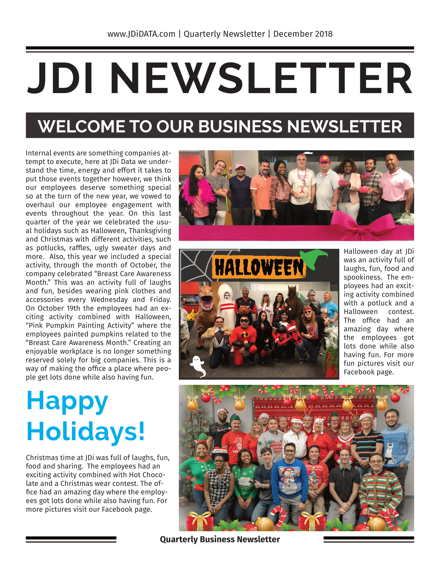 JDi Newsletter