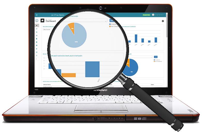 magnifying glass laptop