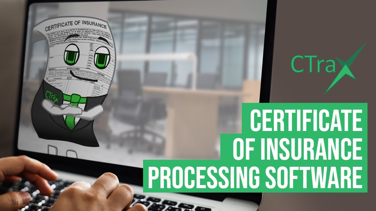 Read more about the article CTrax – Certificate of Insurance Management Software