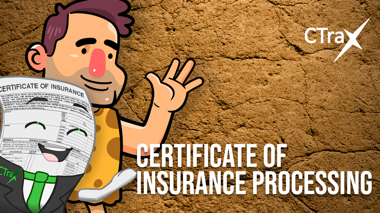 Read more about the article Certificate of Insurance Processing