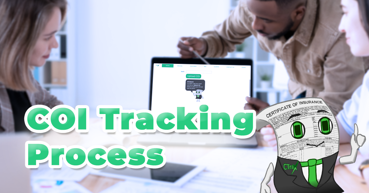 Read more about the article COI Tracking Process