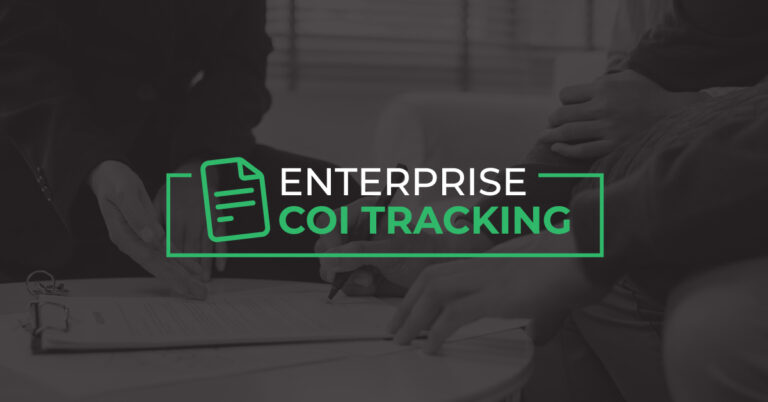 enterprise coi tracking