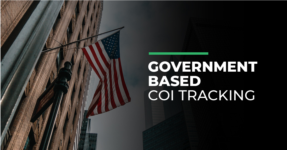 Read more about the article Government based COI tracking