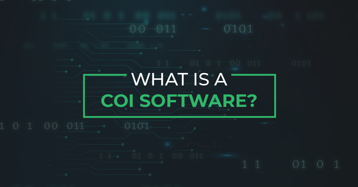 Read more about the article What is a COI Software?